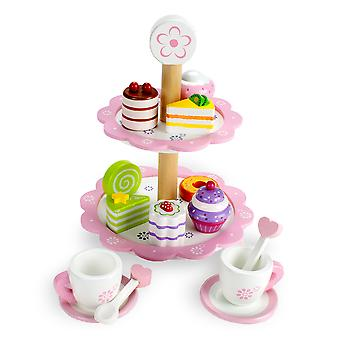 Tea Time Pastry Tower