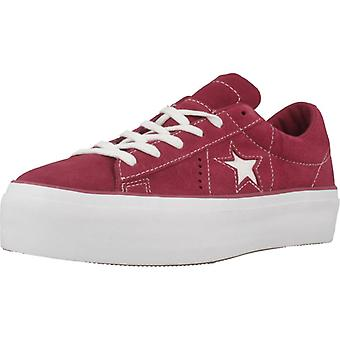 Converse Sport / One Star Platform Ox Color Rhabarber Sneakers