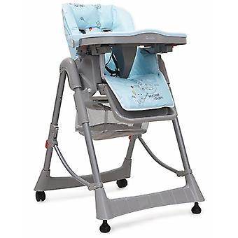 High chair cookie, table, foldable height adjustable, removable seat cushion
