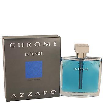 Chrome Intense Eau De Toilette Spray By Azzaro   533797 100 ml