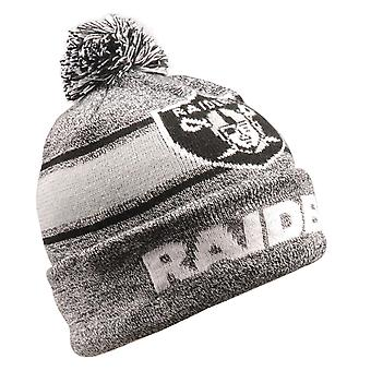 LED Oakland Raiders Winter Hat Bommel Beanie