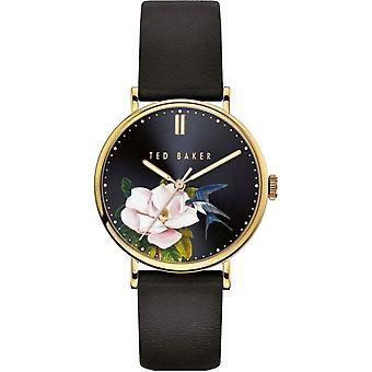 Ted Baker BKPPFF909 Women's Phylipa Flowers Pink Strap Wristwatch