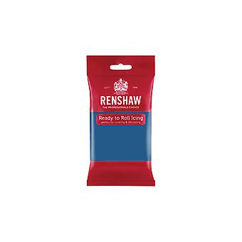 Renshaw Atlantic Blue 500g ready to Roll Fondant Vereisung Zuckerpaste