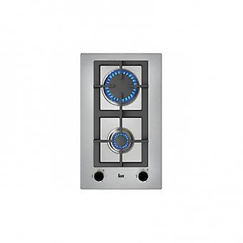Gas Hob Teka EFX30.1 2G 30 cm rustfrit stål (2 ovne)