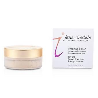 Jane Iredale Amazing Base Loose Mineral Powder Spf 20 - Warme zijde 10.5g/0.37oz
