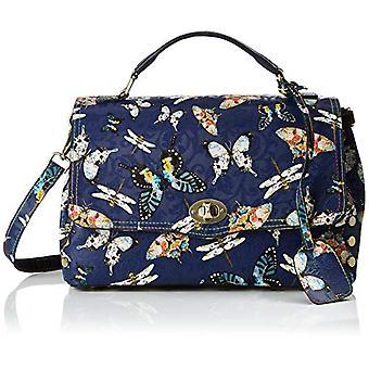 Laura Vita 2639 - Blue Women's Bucket Bags (Bl) 12.0x21.0x32.0 cm (W x H L)