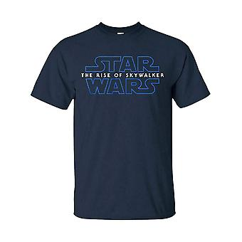 Hommes-apos;s Star Wars Rise of the Skywalker Navy T-Shirt