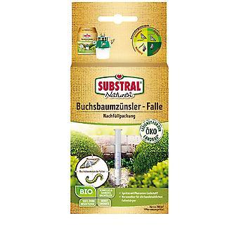 SUBSTRAL® Natural® Sistema de trampa de madera de caja orgánica Recarga Pheromen, 1 pieza