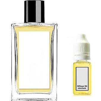 Jo Loves Thai Lime & Mango For Her Inspired Fragrance 100ml Refill Essential Diffuser Oil