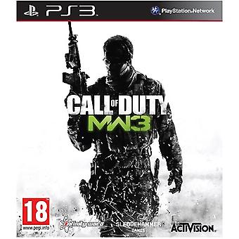 Call of Duty Modern Warfare 3 PS3 Game