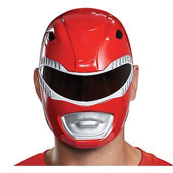 Red Ranger vuxen mask