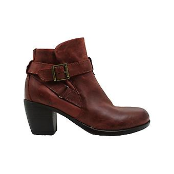 Born Womens Shea Leather Almond Toe Ankle Fashion Boots