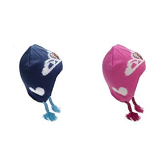जमे हुए बच्चों/बच्चों अंना और एल्सा शीतकालीन टोपी