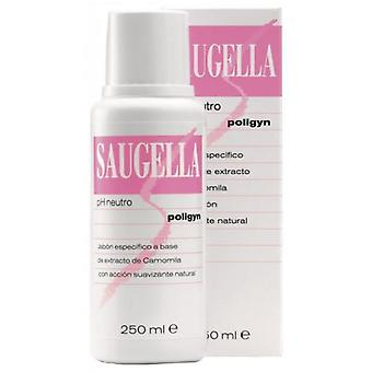 Saugella Mydło neutralne Ph Poligyn 250 ml