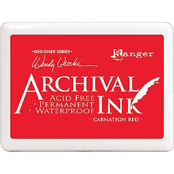 Wendy Vecchi Designer Series Archival Ink Pad #3 - Carnation Red