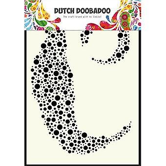 Голландский Doobadoo A6 Маска Искусства Stencil - Пузыри