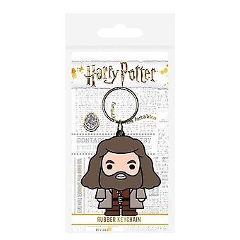 Harry Potter Hagrid Chibi Rubber Keyring
