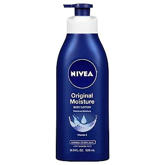 Nivea original moisture body lotion, normal to dry skin, 16.9 oz