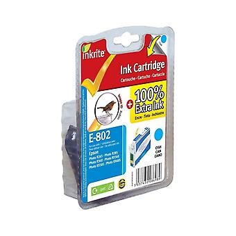 Inkrite NG Printer Ink for Epson R265 R360 RX560 - T080240 Cyan (Robin)
