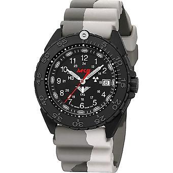 KHS Wristwatch الرجال المنفذ الأسود الصلب CR KHS. ENFBSCR. DC5