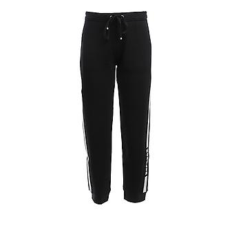 Moncler 8h70600v8105999 Women's Black Cotton Joggers