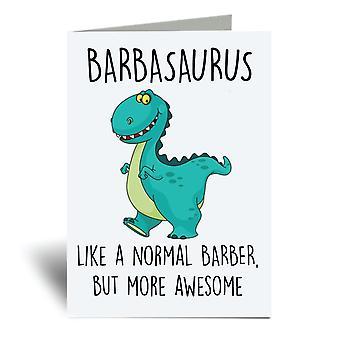 بطاقة تحية بارباسوروس A6