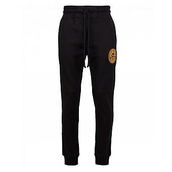 Versace Jeans Couture Embroidered Head Logo Joggers