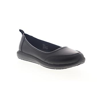 Emeril Lagasse Julia Smooth  Womens Black Slip On Flats Shoes