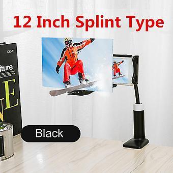 12 & أبوس؛ للطي شاشة الهاتف المحمول المكبر 3D HD شاشة مكبر للصوت قوس الوقوف