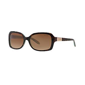 Ralph von Ralph Lauren RA5130 601/13 LT TORT TURQUOISE/Brown Gradient Sonnenbrille