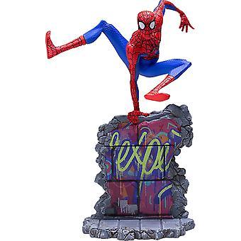 Spiderman en SpiderVerse Peter B Parker BDS 1:10 Escala St