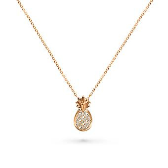 Necklace Pineapple 18K Gold and Diamonds