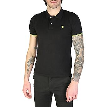 Man polo japanese black formal wear ua58839