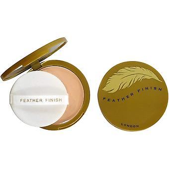 Mayfair Feather Finish Compact Powder with Mirror 10g - 04 Medium Fair