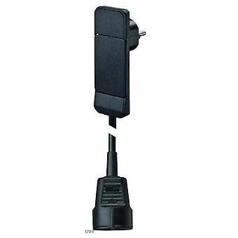 Bachmann 933.012 تمديد الكابل الحالي 16 A أسود 1.50 m
