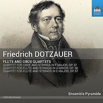 Dotzauer / Tillmann / Jehli - Flute & Oboe Quartets [CD] USA import