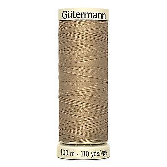Gutermann Naai-alle 100% polyester draad 100m hand en machine kleurcode - 265