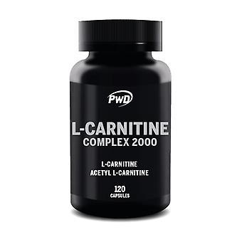 L Carnitine Complex 2000 120 capsules