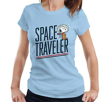 Peanuts Snoopy Space Traveler Women's T-Shirt