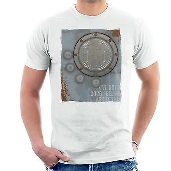 The Crystal Maze Lighter Good Feeling Rust Panel Men's T-Shirt