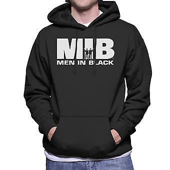 Men In Black MIB Logo Men's Hooded Sweatshirt