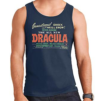 Hammer Horror Films Dracula Shock And Thrill Show Men's Vest