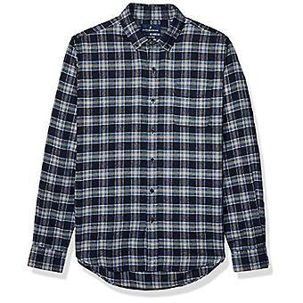 Brand - Buttoned Down Men's Slim Fit Supima Cotton Plaid Flannel Sport...