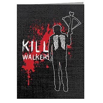 The Walking Dead Daryl Crossbow Greeting Card