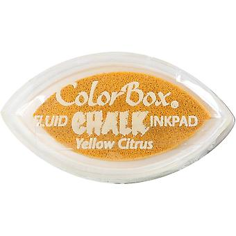 Clearsnap ColorBox Chalk Ink Cat's Eye Yellow Citrus