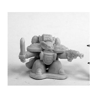Reaper Miniatures Bones Chronoscope 80084 Space Mousling Commander