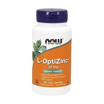 L-Optizinc 100 vegetable capsules