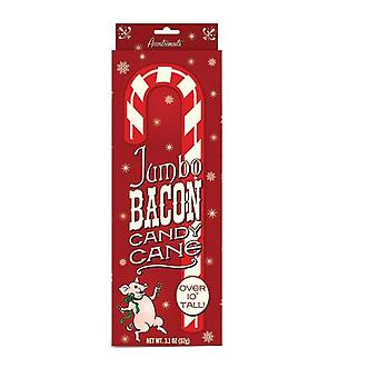 Archie McPhee Jumbo Bacon Candy Cane