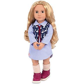 Our Generation 70.31232Z Amalia Toy Regular, 18 inch / 46 cm Doll