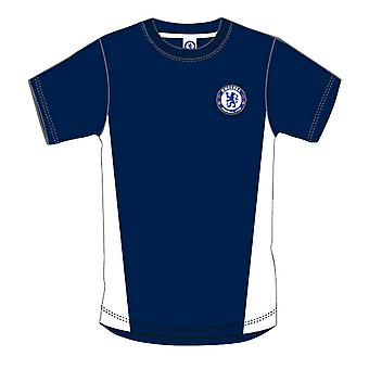 Chelsea FC Mens Official Crest T-Shirt